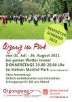 SOMMERAKTION: Qigong im kleinen Martini-Park